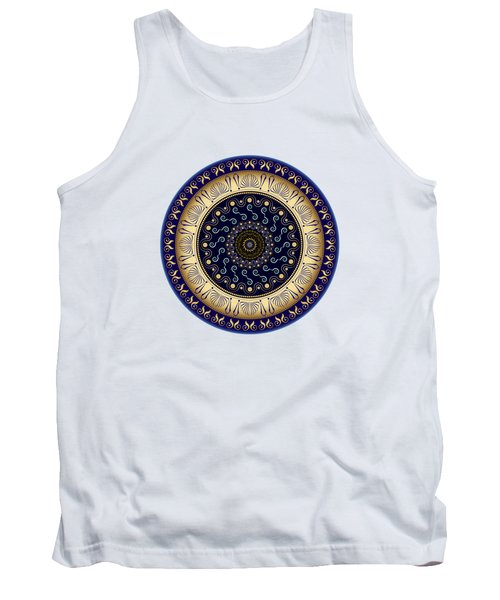 Circularium No 2648 Tank Top by Alan Bennington