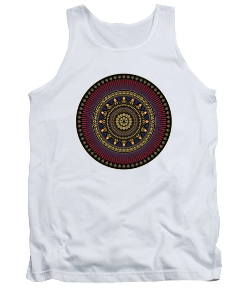 Circularium No 2650 Tank Top by Alan Bennington