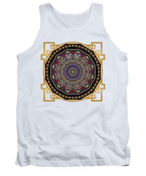 Circularium No 2652 Tank Top by Alan Bennington