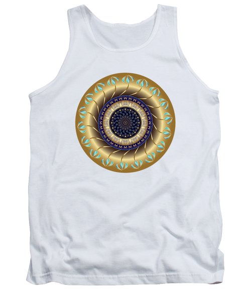 Circularium No 2708 Tank Top by Alan Bennington