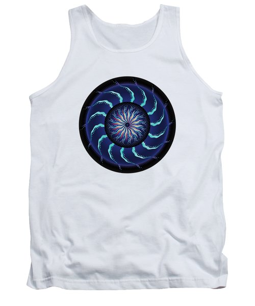 Circularium No 2711 Tank Top by Alan Bennington