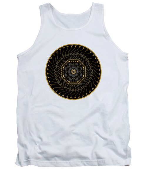 Circularium No 2713 Tank Top by Alan Bennington