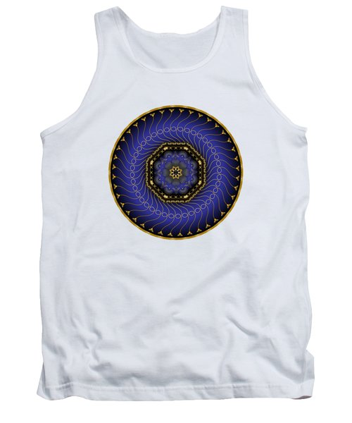 Circularium No 2714 Tank Top by Alan Bennington