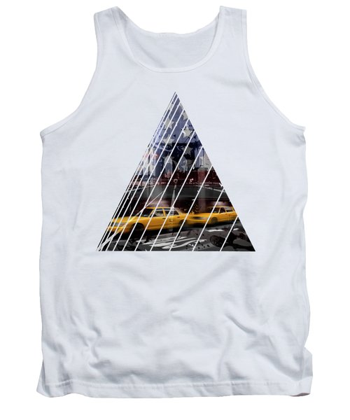 City-art Nyc Composing Tank Top