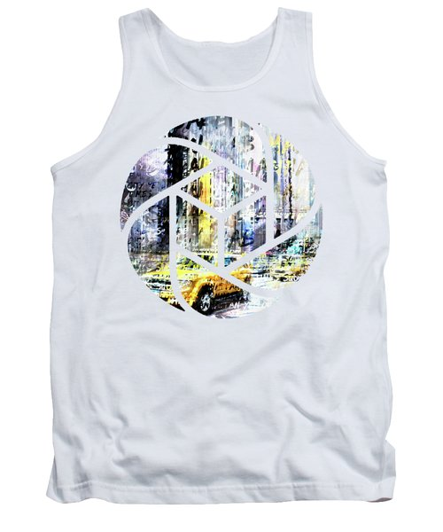 City-art Times Square Streetscene Tank Top