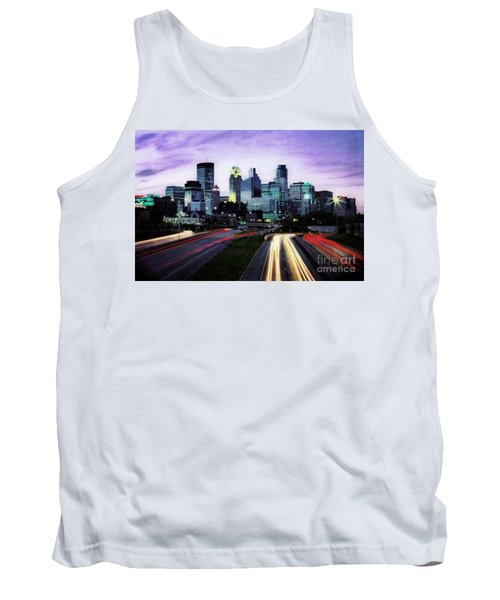 Tank Top featuring the photograph City Moves by Scott Kemper