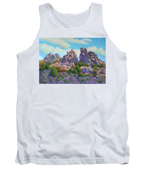 City Of Rocks Tank Top