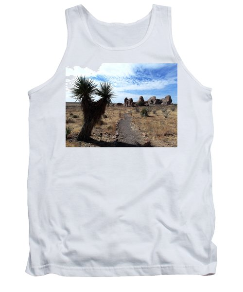 City Of Rocks - New Mexico Tank Top