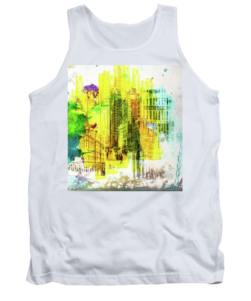 City Splash Tank Top