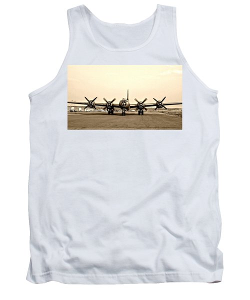 Classic B-29 Bomber Aircraft Tank Top by Amy McDaniel