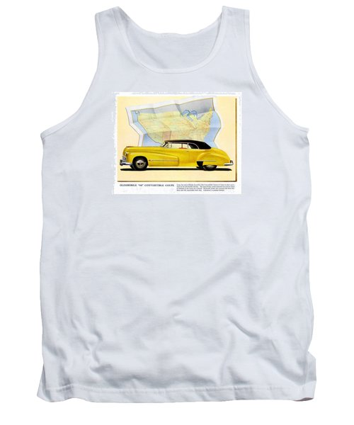 Classic Car Ads Tank Top by Allen Beilschmidt