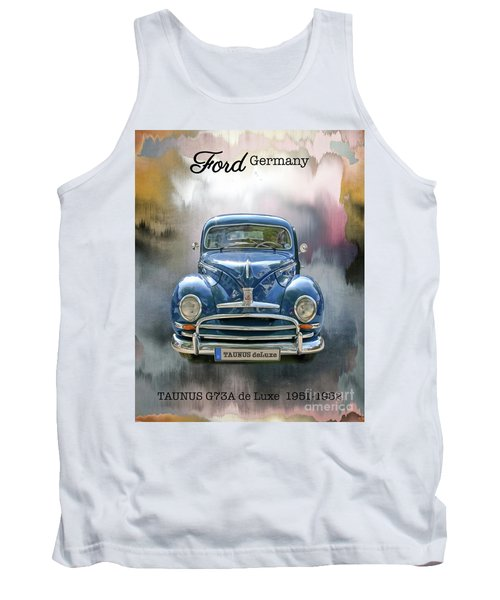 Classic Ford Taunus Deluxe Tank Top
