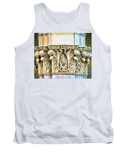 Tank Top featuring the digital art Classic by Wendy J St Christopher