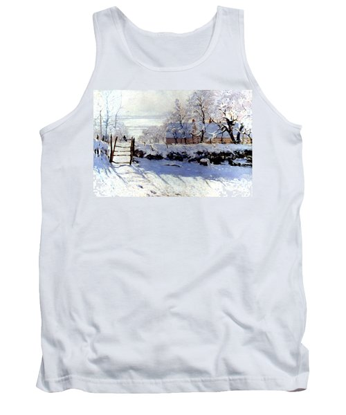 Claude Monet The Magpie - To License For Professional Use Visit Granger.com Tank Top
