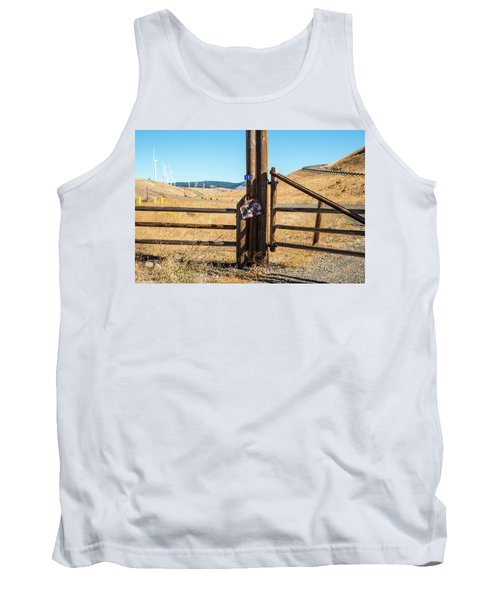 Clean Power And Old Ranch Gates Tank Top
