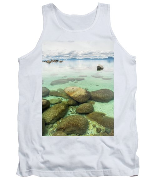 Clear Water, Stormy Sky Tank Top