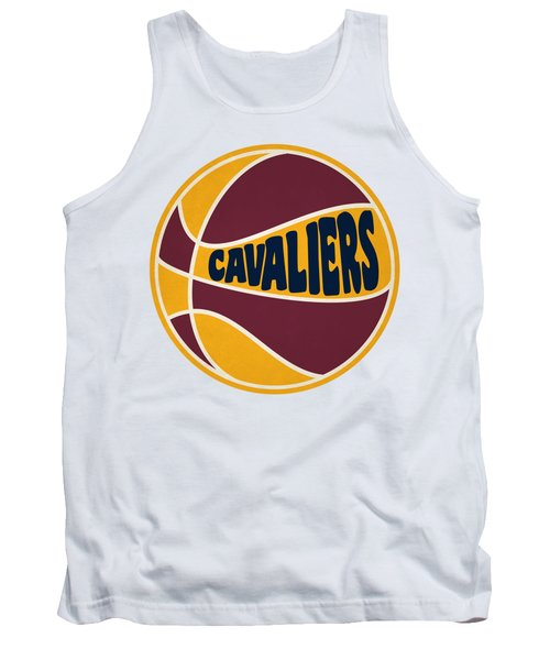 Tank Top featuring the photograph Cleveland Cavaliers Retro Shirt by Joe Hamilton