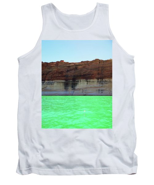 Cliff At Lake Powell Tank Top