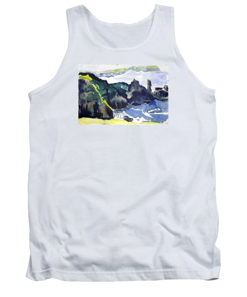Cliffs In The Sea Tank Top