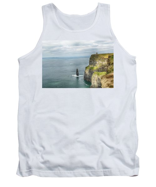 Cliffs Of Moher 3 Tank Top by Marie Leslie