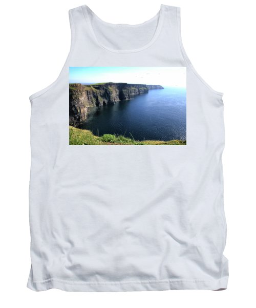 Cliffs Of Moher Tank Top by Catherine Alfidi