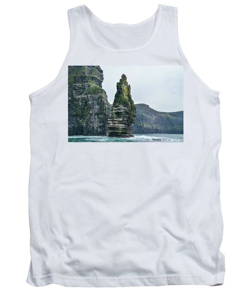 Cliffs Of Moher Sea Stack Tank Top