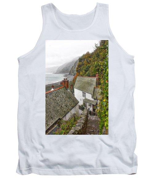 Clovelly Coastline Tank Top