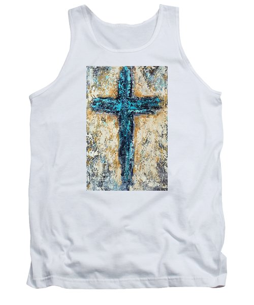 Clothe Yourself In Mercy Tank Top by Kirsten Reed