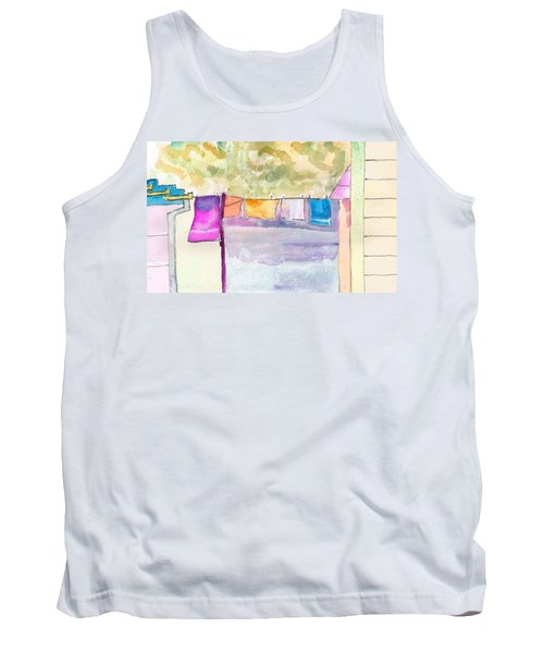 Clothes On The Line Tank Top