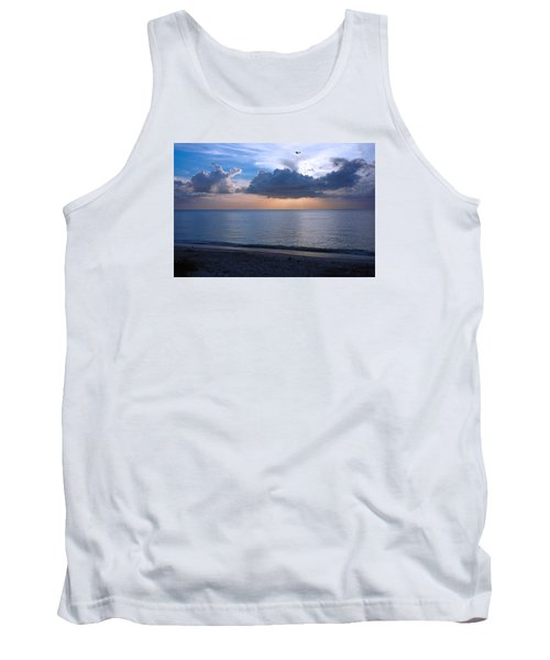 Cloud Creatures At Delnor Wiggins Pass State Park Tank Top