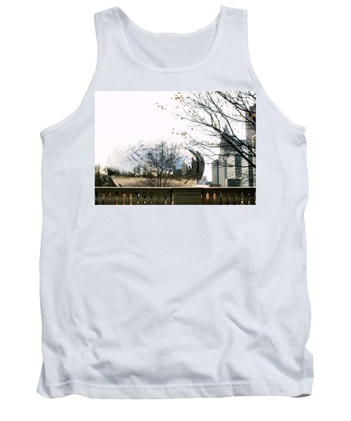 Cloud Gate - 1 Tank Top by Ely Arsha