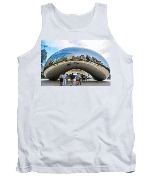 Cloud Gate Aka Chicago Bean Tank Top