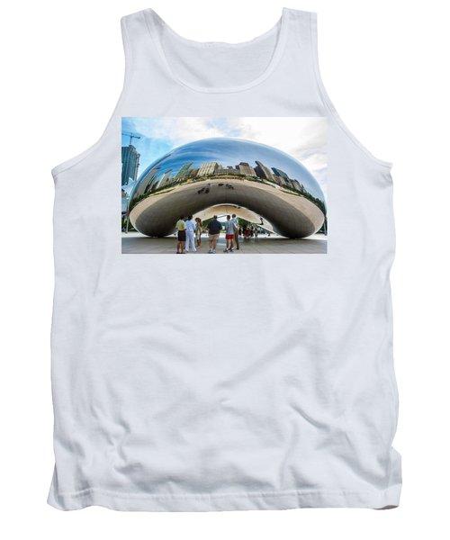 Cloud Gate Aka Chicago Bean Tank Top