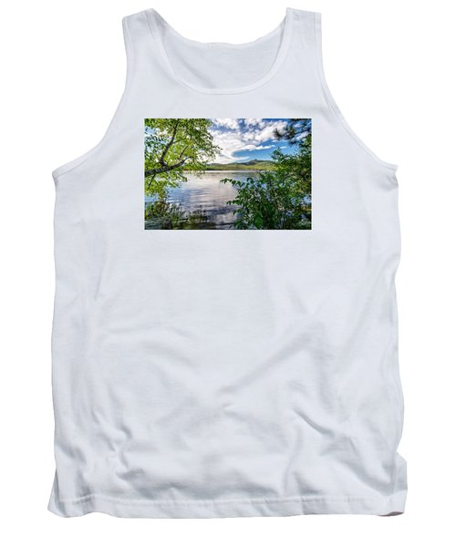 Cloud Swirl Mt. Chocorua Nh Tank Top