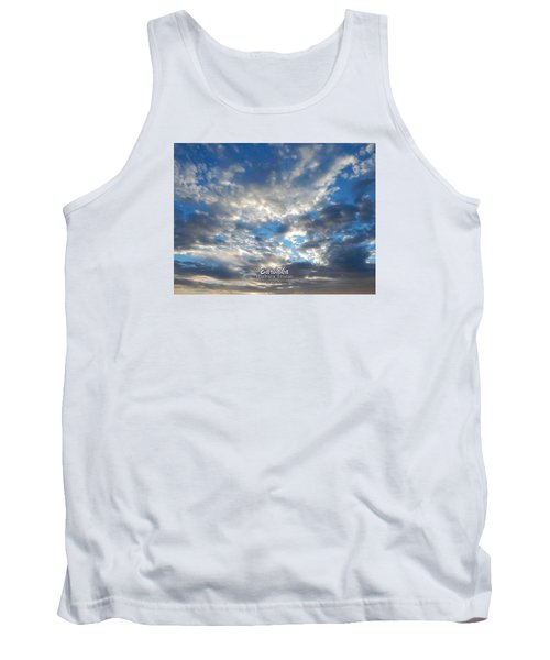 Clouds #4049 Tank Top