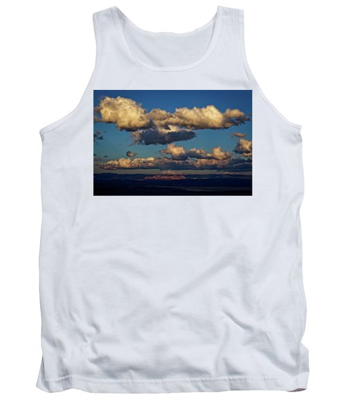 Clouds And Red Rocks Hdr Tank Top