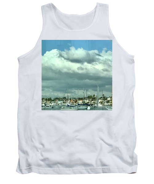Tank Top featuring the photograph Clouds On The Bay by Kim Nelson