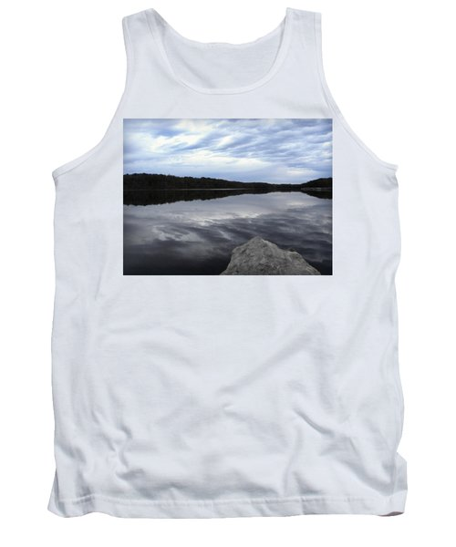 Clouds On The Lake Tank Top