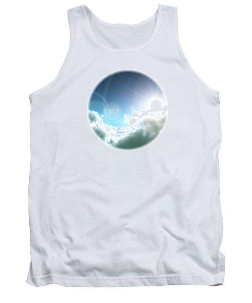 Cloudy Sun Tank Top