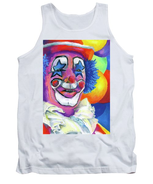 Clown With Balloons Tank Top