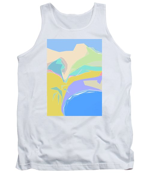 Coast Of Azure Tank Top