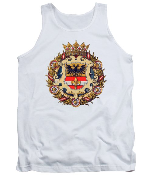 Coat Of Arms Of Triest Tank Top