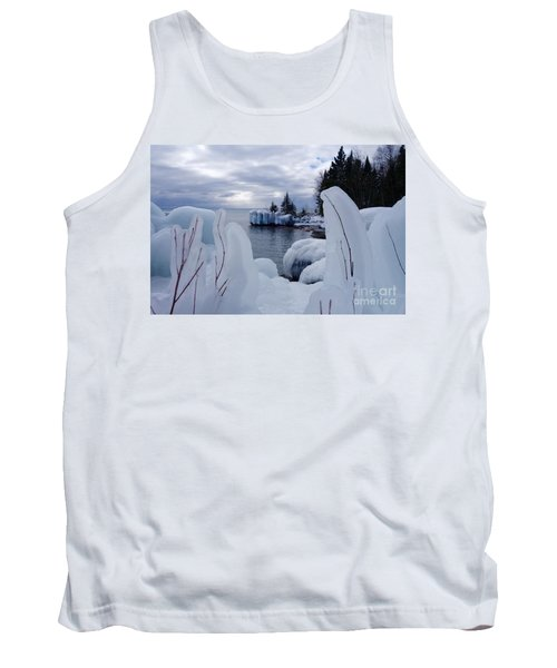 Coated With Ice Tank Top by Sandra Updyke