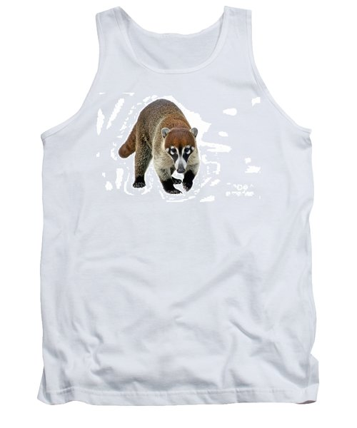Coatimundi Tank Top by Teresa Zieba