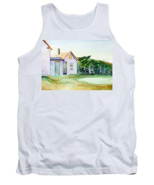 Cobb's House After Edward Hopper Tank Top
