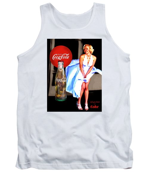 Coca Cola Girl Marilyn Tank Top