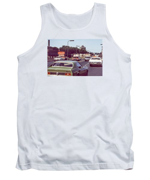 Coca Cola Plant On Central Ave Tank Top