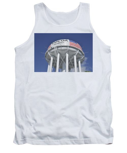 Cocoa Florida Water Tower Tank Top