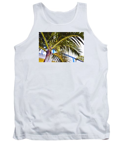 Coconut Cover Tank Top by JAMART Photography