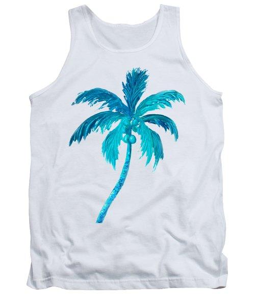 Coconut Palm Tree Tank Top